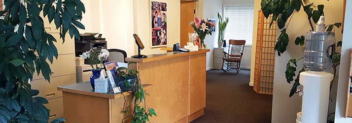Chiropractic Amherst MA Lobby Area